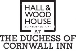 H&W DUCHESS OF CORNWALL INN Logo BLACK