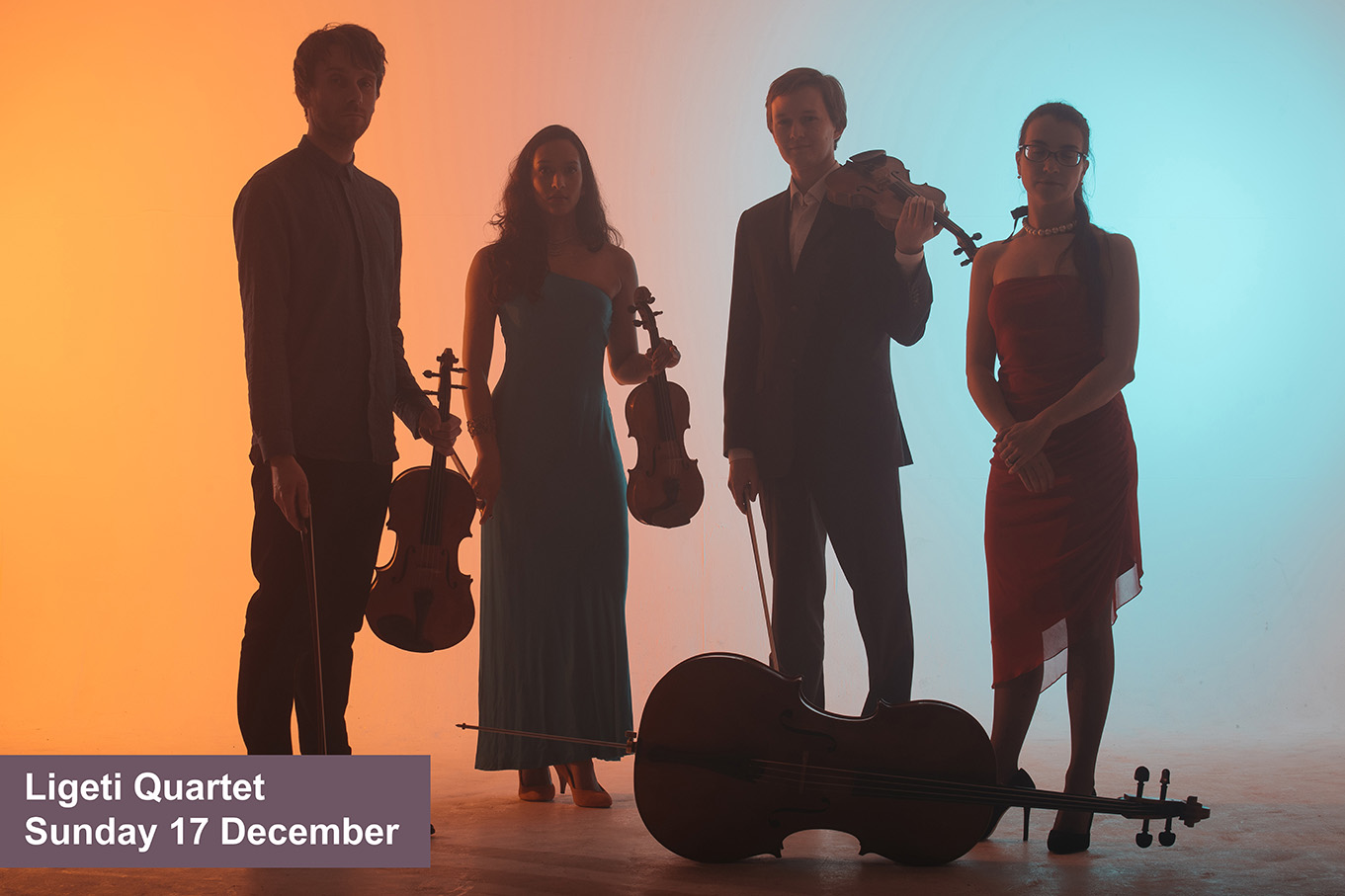 Ligeti Quartet, Sunday 17 December