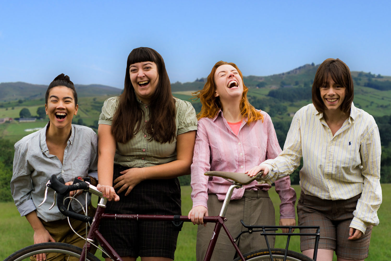 Girls Countryside
